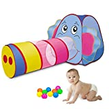 Sonyabecca Play Tent for Kids Girls/Boys with Tunnel Pop Up Indoor&Outdoor