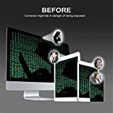 Ediseng Ultra Thin Webcam Cover Slider (pack 3) for desktop Laptops macbook pro macbook air imac PC Tablets Smartphones iphone Camera Cover Strong Adhesive,Protect Your Privacy and Securtiy