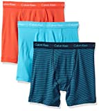 Calvin Klein Mens Underwear 3 Pack Cotton Stretch Boxer Briefs
