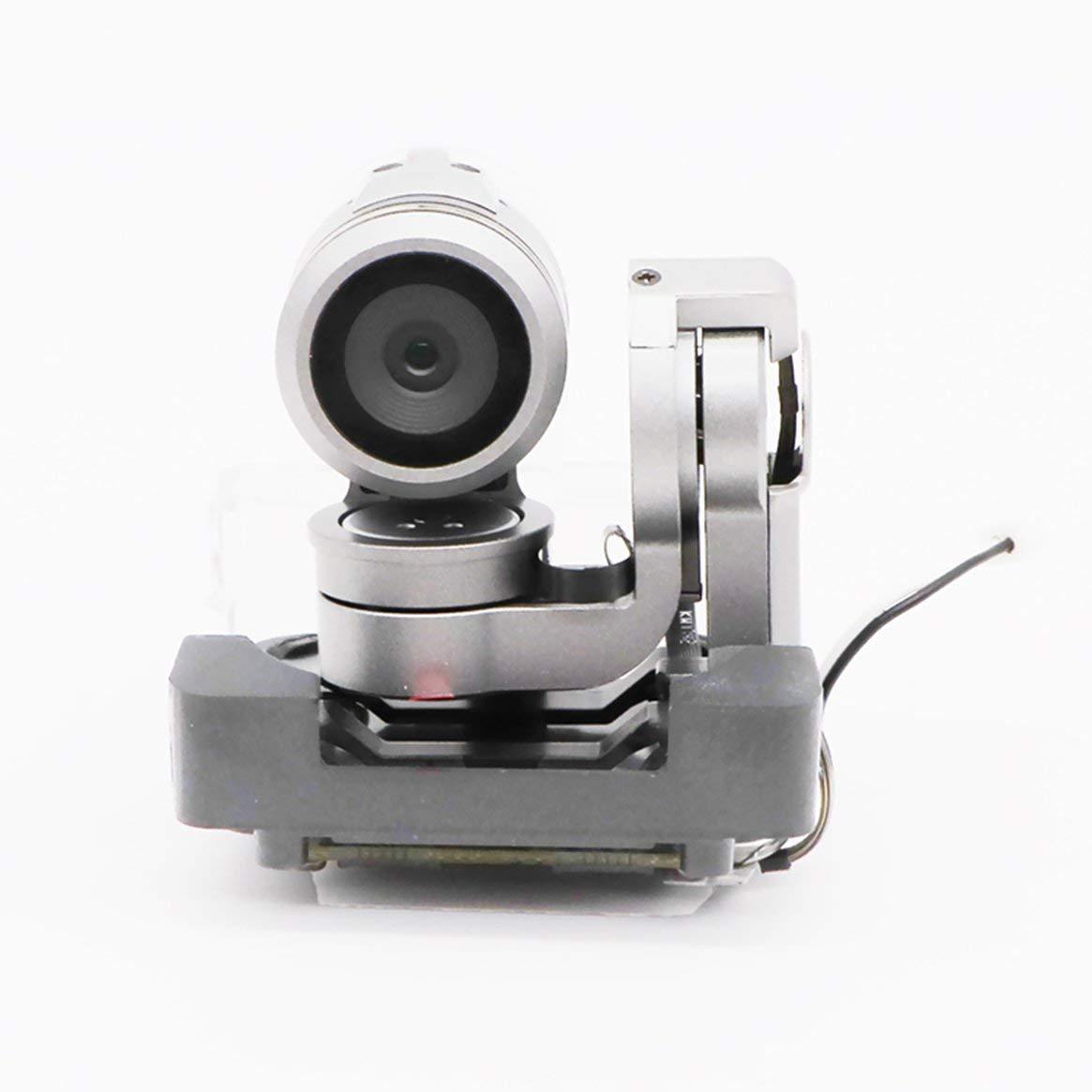 Delicacydex Drohne Gimbal Kamera mit Board für DJI Mavic Pro Ersatz Ersatzteile Video RC Cam Original Drohne Zubehör - Silber & Schwarz