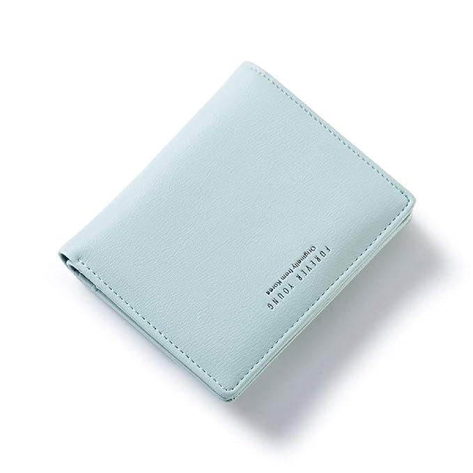 Amazon.com: Mini monedero para mujer pequeño tipo cartera de ...