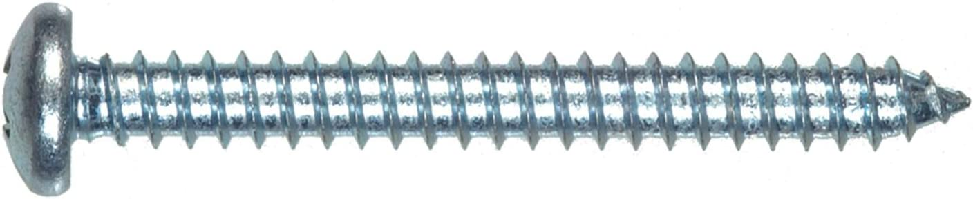 The Hillman Group 80257 8-Inch x 3//4-Inch Pan Head Phillips Sheet Metal Screw 100-Pack