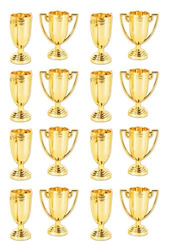 Beistle 59913 16 Piece Trophy Cups, 2.75