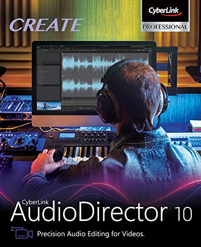 Cyberlink AudioDirector 10 Ultra [PC Download]