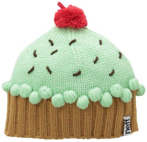 c650edcce6a9d Neff Women s Cupcake Beanie Hat - Mint