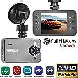 1080P Full HD Screen Car DVR Camera Multi-Function HD Driving Recorder Super Wide-Angle Night Vision Camera Automobile Recorder: more info