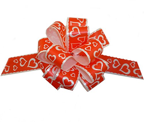 Valentine's Day Gift Wrap Pull Bows - 5
