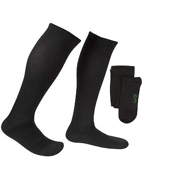 a5c765cb3d5fd2 EvoNation Men's Coolmax USA Made Graduated Compression Socks 15-20 mmHg  Moderate Pressure Medical Quality