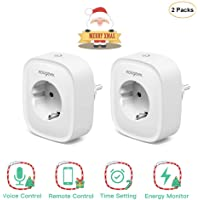 Enchufe Inteligente WiFi, Koogeek Smart Plug, Compatible