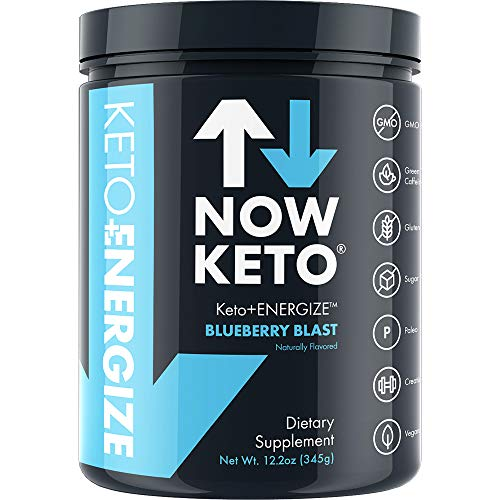 NOW KETO® Keto Energy Ketones w/Creatine, BHB Ketones -Beta Hydroxybutrate Salts - Keto Diet Friendly - Elevate Ketones & Increase Ketosis, for Ketogenic Diet (Best Creatine Workout Plan)