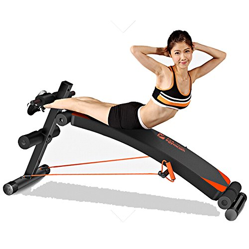 Sit Up Bench Egymcom Adjustable Abdominal Decline Bench Slant Board Abs Workout Equipment