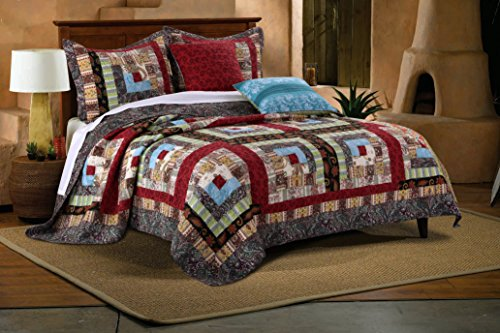 Greenland Home 5 Piece Colorado Lodge Bonus Set, Full/Queen