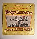 1964 Rudy Gonzales Teardrop LPM 2005 : Y sus Reno Bops Un Ratito El Tejano Enamorado : Huey P. Meaux : A Division of Crazy Cajun : Spanish/Mexico/Mexican/Latino/South American/Folk Vinyl 33 RPM : Comes with a CD .Aiff Digital Transfer