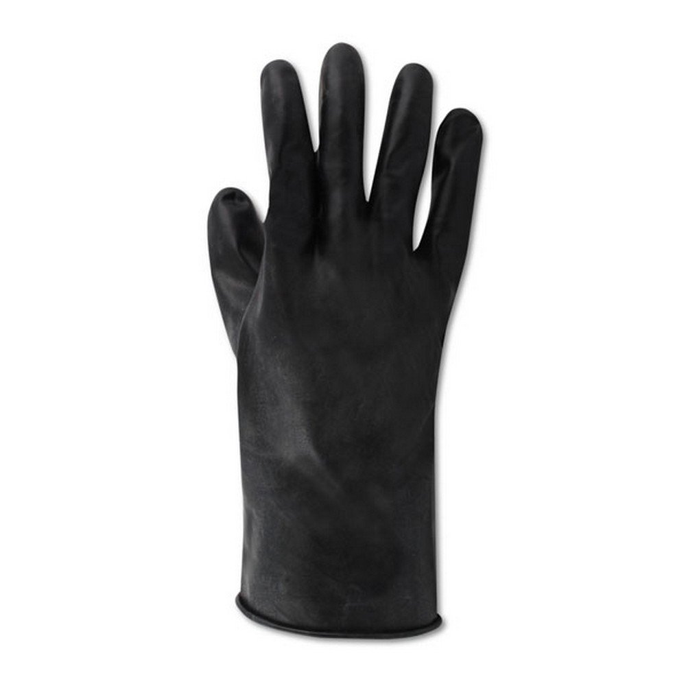 Honeywell B131/7 North 13 Mil Unsupported Butyl Glove with Smooth Finish and Beaded Cuff 11'', Size 7