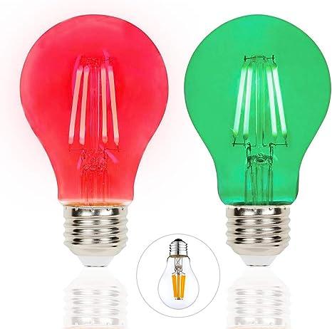 2 x SYLVANIA Transparent GREEN Light Bulbs   Indoor//Outdoor   15 W