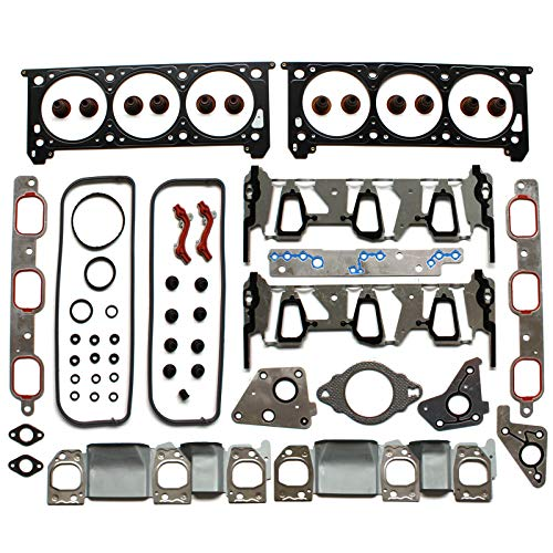 Gasket Set Chevrolet Impala - ECCPP Replacement for Engine Cylinder Head Gasket Set fit 06-11 Pontiac G6 Buick Chevrolet Impala Malibu Monte Carlo Uplander Head Gaskets Kit
