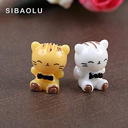 Store Decorative Cat Figures Decorative For The Mini Fairy