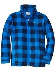 哥伦比亚Columbia Fleece Jacket小帅哥抓绒保暖外套 蓝格 $23.86