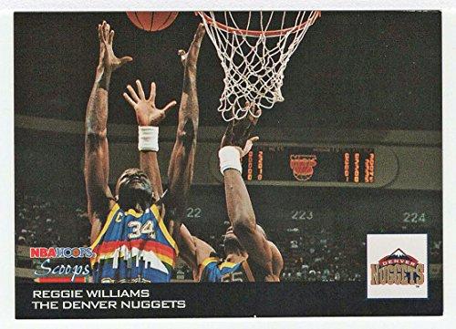 (Reggie Williams (Basketball Card) 1993-94 Skybox Hoops Scoops # HS 7)