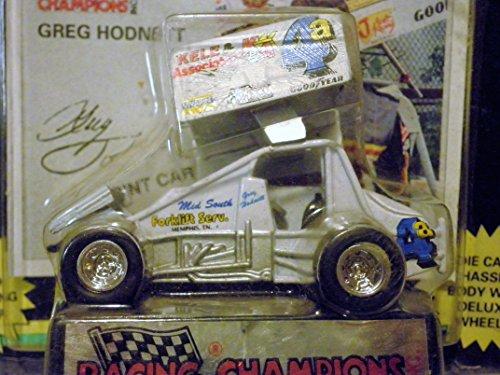 [해외]Greg Hodnett (화이트 4) 스프린트 카 월드 오브 아웃레그 시리즈 1:64 스케일 다이캐스트 레이서 레이서 레이싱 챔피언스 / Greg Hodnett (white 4) Sprint Car World of Outlaws Series 1:64 scale die-cast Racer by Racing Champions