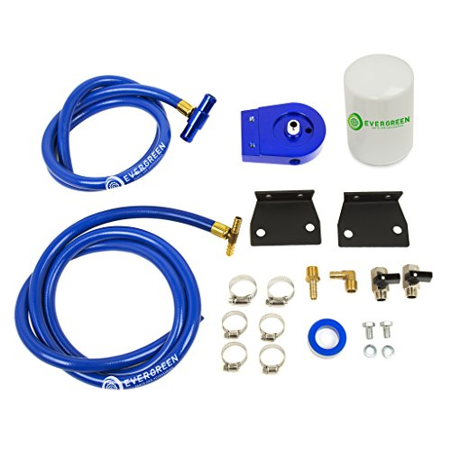 Fit Kit System (Coolant Filtration System / Filter Kit fits 2008-2010 Ford 6.4 Powerstroke F250 F350 Evergreen CFK-6.4)