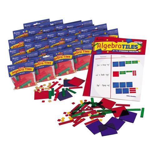 Algebra Tiles Classroom Set by Learning Resources