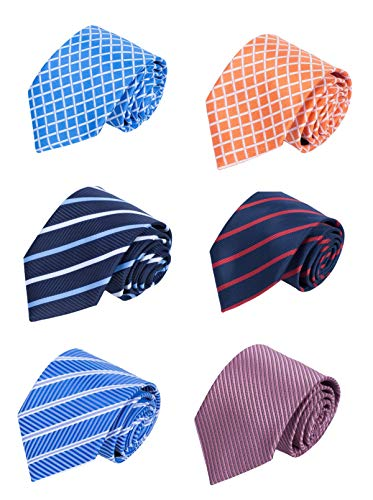 YanLen Pack of 6 Classic Men's S...