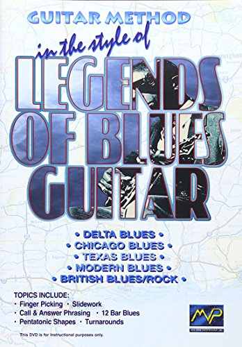 Guitar Method: Legends of Blues Guitar by Music. Video Prod.