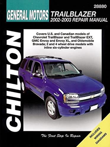 chilton total car care chevrolet trailblazer gmc envoy oldsmobile rh amazon com 2003 gmc envoy parts manual 2004 gmc envoy repair manual download
