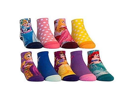 Kids Characters Socks, Disney Princess, Frozen , Star Wars, Avengers 9- Pairs (Medium, Disney Princess)