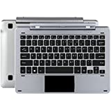 Original magnetic docking Keyboard gray color for Chuwi Hibook pro or Hi10 pro and Hibook tablet 10.1 inch