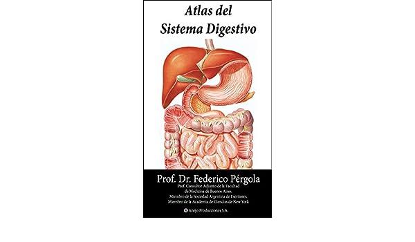 Atlas del Sistema Digestivo: Totalmente Ilustrado. eBook: HC ...