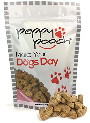 Peppy Pooch Grain Free Oven Baked Dog Biscuits. Fish Stew Flavor. 14oz. Bag