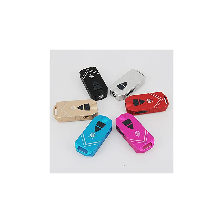 MecArmy SGN7 USB Rechargeable Personal Attack Alarm and Multifunction Flashlight