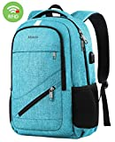 Backpack for Women,MATEIN Stylish Laptop Backpack for High Middle School College, 15 Inch Womens Travel Daypack for Teen Girls Boys, Slim Water Resistant Student Bookbag with USB Charging Port