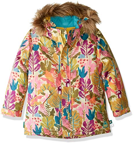 Burton Girls Minishred Aubrey Jacket, Forest Friends, 5\6 ()