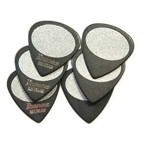 Ibanez BPA16MS-BK - Púa (tamaño medio, paquete de 6 uds.)