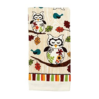 Ritz Sleepy Owl Collection Printed Kitchen Towel