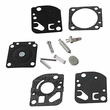 Amazon.com: jrl Rebuild Kit de reparación para carburador ...