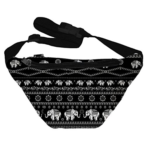 [Funny Guy Mugs Elephant Fanny Pack] (Indian Costume Ideas For Women)