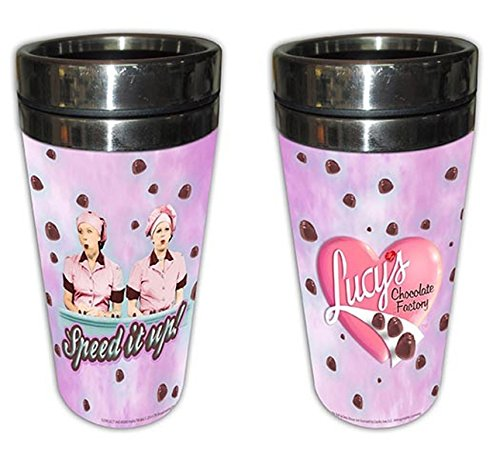 I Love Lucy Thermos Mug Chocolate Factory