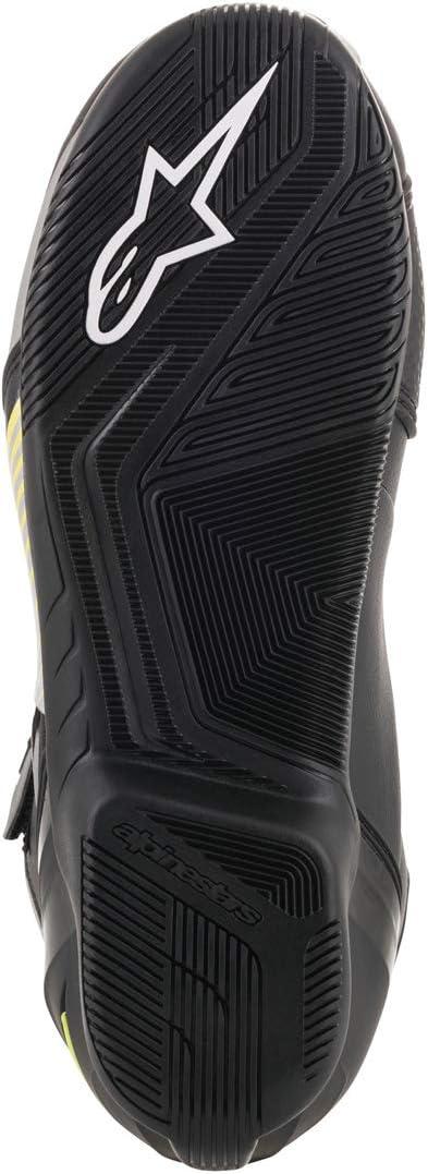 Black 45 Motorcycle boots Alpinestars Sektor Shoe Black