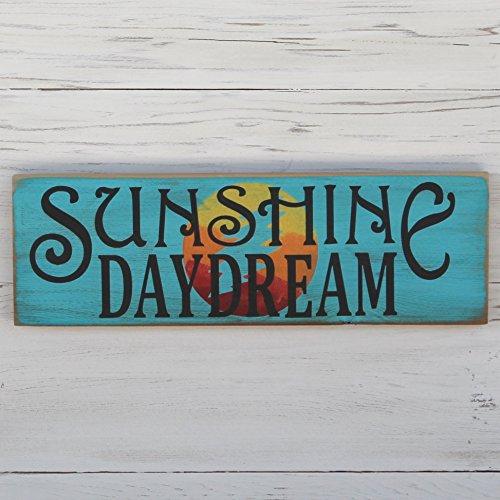 Grateful Dead Rustic Sunshine Daydream Sign