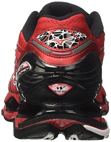 Wave Homme de Multicolore Mizuno Rouge Prophecy Chinese Running White Red Chaussures Black dUnXUWC1q