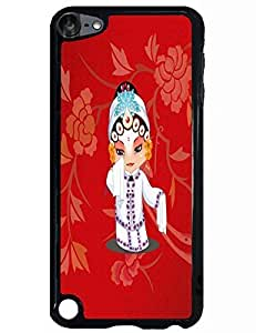 Creative Artsy Hard Phone Case for Ipod Touch 5th with The Design Of Peking Opera Costume