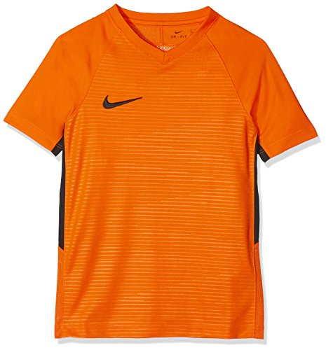 Orange black Nike Mixte safety Maillot Enfant Tiempo Premier Orange 8wXq6rf8