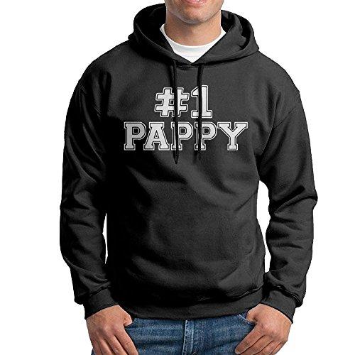 FDLB Mens #1 Pappy Traveler Particular Hoodie Hooded Sweatshirt M Black