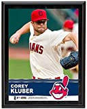 Corey Kluber Cleveland Indians Sublimated 10x13 Plaque - Fanatics Authentic Certified - MLB Player Plaques and Collages
