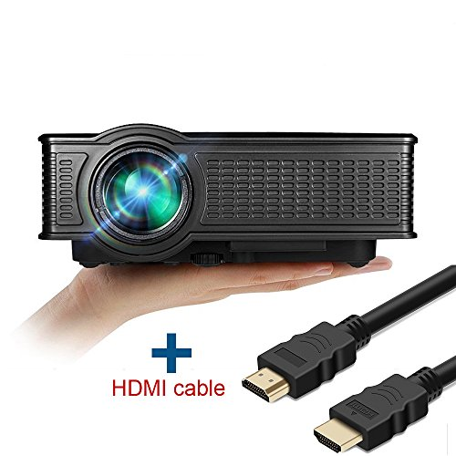 Cheap Video Projectors full hd video projector boscheng lcd 1500 lumens 1080p portable mini movie