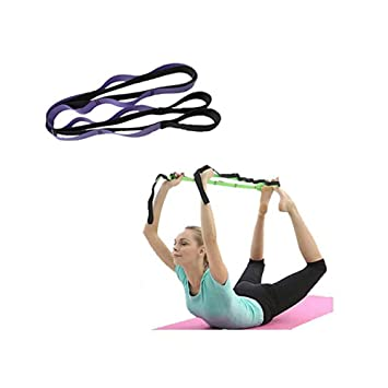 SAHWIN® 10 Fijo Lazos Algodón Correa Yoga & Stretch Strap ...